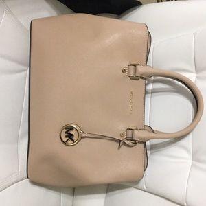 Michael kors savannah oyster lg satchel women bag